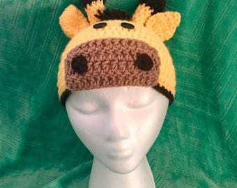 Giraffe Hat for Adult