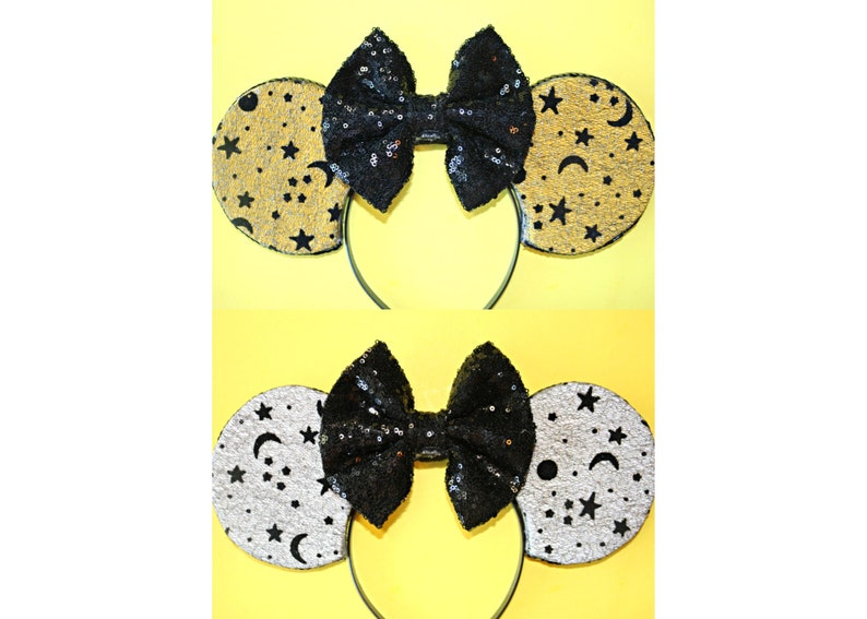 Sun Moon And Stars Minnie Ears Disney Ears Mouse Ears Etsy
