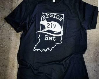 Rep 219 Region Rat Bella Canvas T-shirt