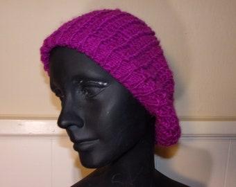 Purple Knit Cap