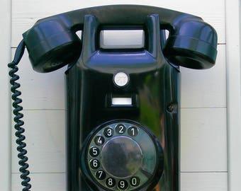 Deurbel in de vorm van oude telefoon