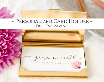 Business card holder etsy popular items for business card holder colourmoves