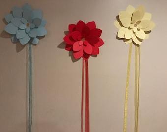Flower Backdrop Set