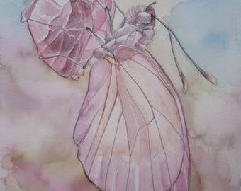 A butterfly dream