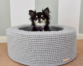 Crochet Dog Bed Etsy