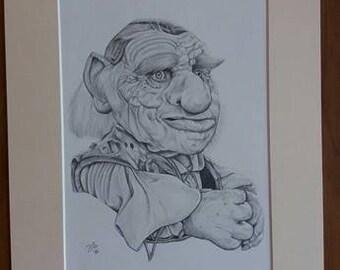 Hoggle 16x12 Hand Signed Limited print