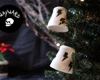 Wayward Christmas Bell Decorations