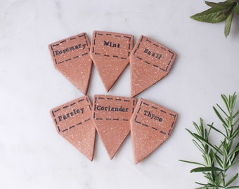 Herb Markers Set of 6
