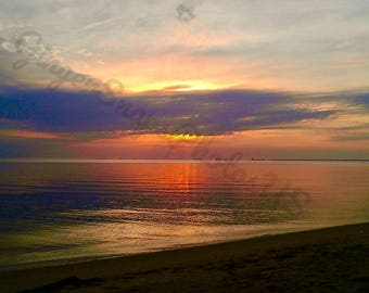 Sunset Reflection Photography Print