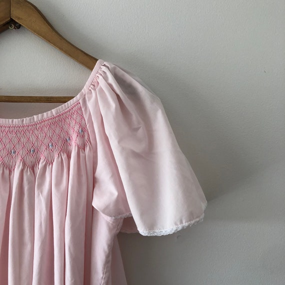 Pink Cotton Nightgown - image 1