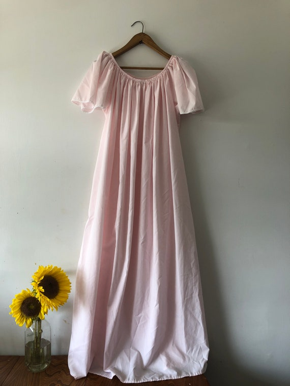 Pink Cotton Nightgown - image 3