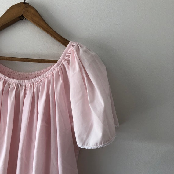 Pink Cotton Nightgown - image 4