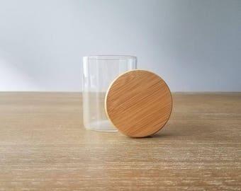 Stash Jar - Airtight Silicone Seal - Plain