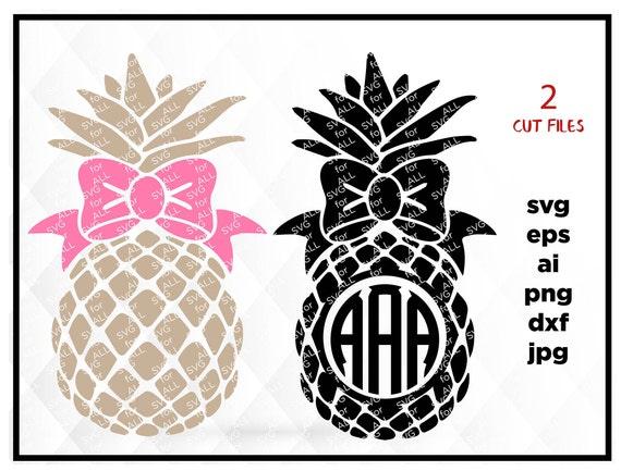 Download Pineapple SVG Pineapple Monogram svg Pineapple Monogram ...