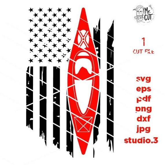 mirrored jpg kayak Tshirt kayak tee shirt svg PNG kayak Svg Kayak American USA Flag svg Dxf kayak Gift Idea kayak Svg Design