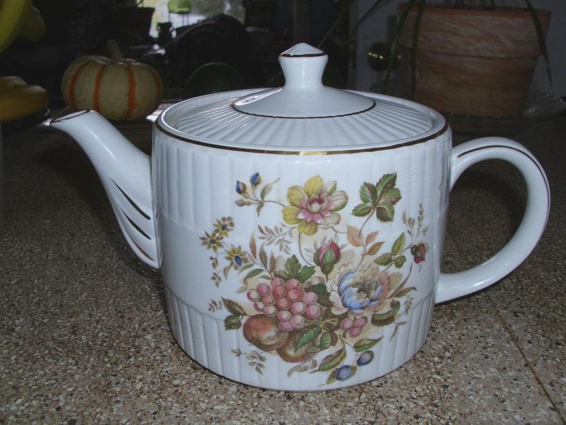 Alte Ellgreave Keramik Porzellan Porzellan Teekanne Weiß Mit Etsy