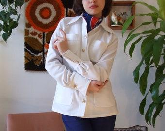 70's White Jacket