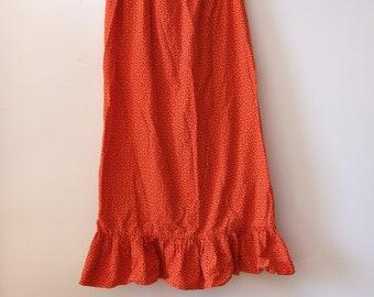 1970's Peasant Skirt