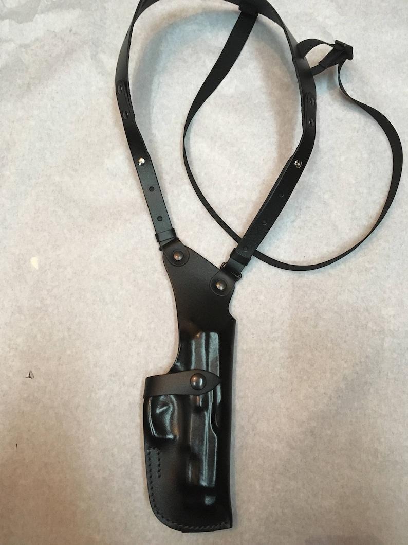Cuir Épaule Étui vertical utilisé pour Beretta 92