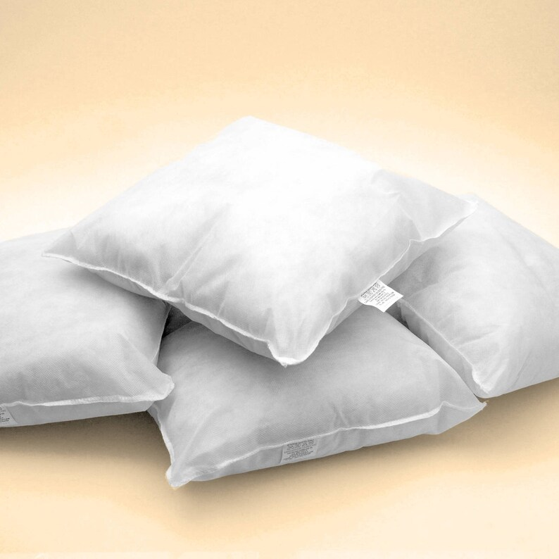 """Pack of 6 11/"""" x 11/"""" Inch Cushion Inner Pad Pads Inner Fillers Cushion Inserts"""