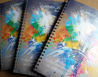 PRE-ORDER - creative Agenda - 52 weeks for release and express her creativity daily
