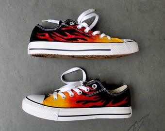 CUSTOMIZED HANDPAINTED Converse High tops Stan Smiths fd63054da