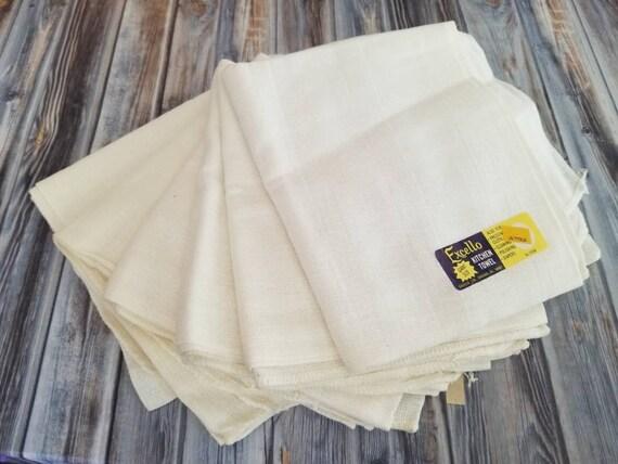 Excello Vintage cuisine serviettes géant lot de 6