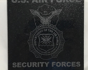 Items similar to USAF Security Forces Police PVC badge