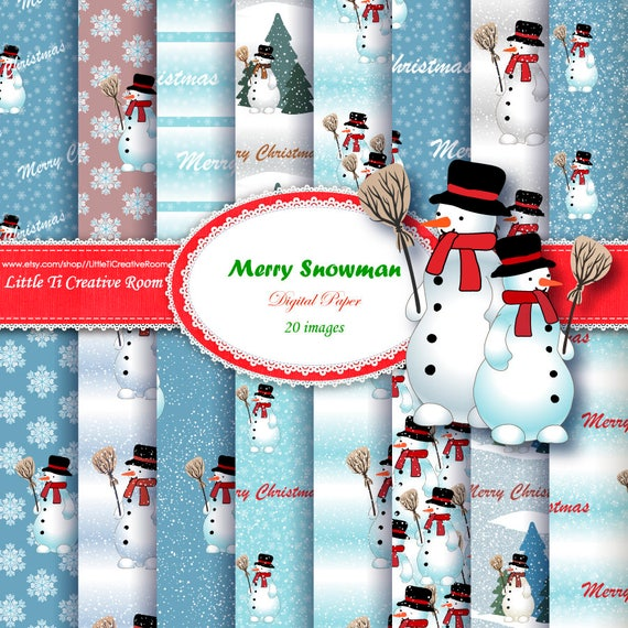 3 Sheets WINTER Snowman Friends Hats mittens MINI 300 Scrapbook Stickers!!
