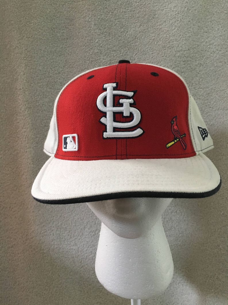 New Era 59fifty St Louis Cardinals Cards 7 58 Fitted Baseball Cap Hat 59 Fifty