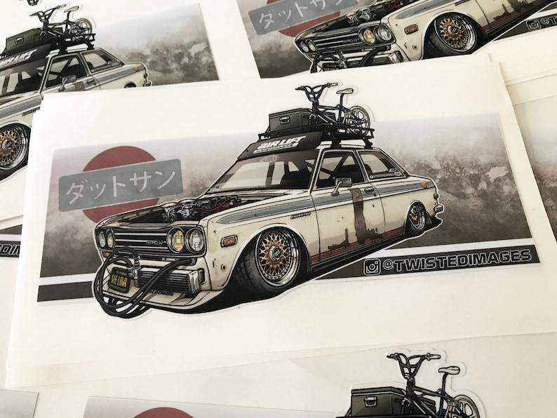 Datsun 510 Sticker