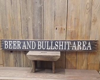 Rustic Wood Carved Signs