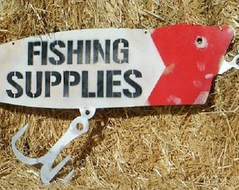 Fishing Supplies/Lure/Bait/Metal/Sign