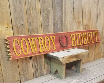 Saloon Rules Western Primitive Country Rustic Wood Sign Home Decor