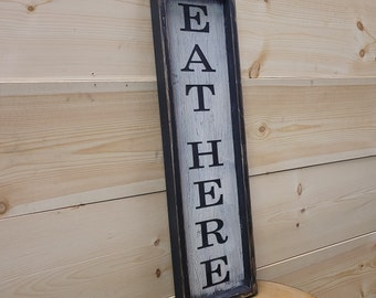 FRAMED RUSTIC SIGNS