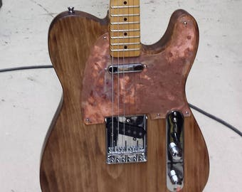 Electric Guitar Copperpot Series Custom made by Stanway Guitars