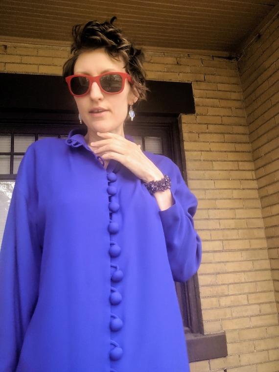 Vintage 80s Designer Arnold Scaasi Dress Rare - image 8