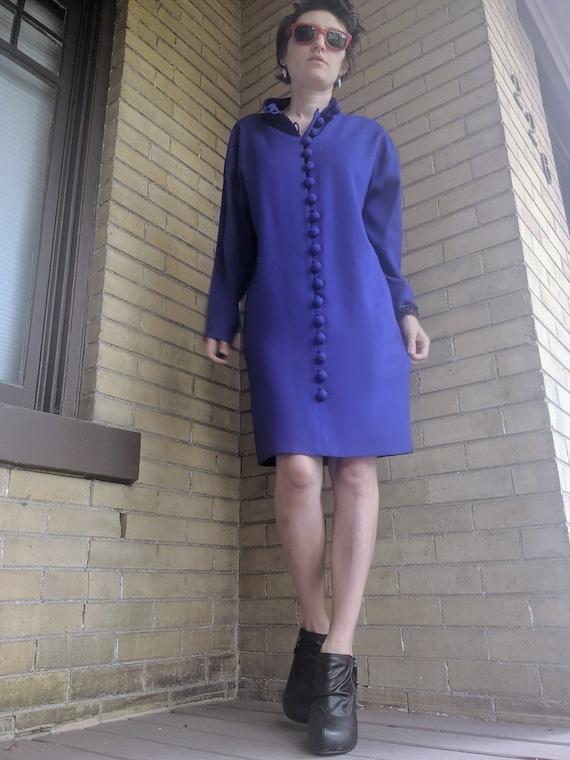 Vintage 80s Designer Arnold Scaasi Dress Rare - image 5
