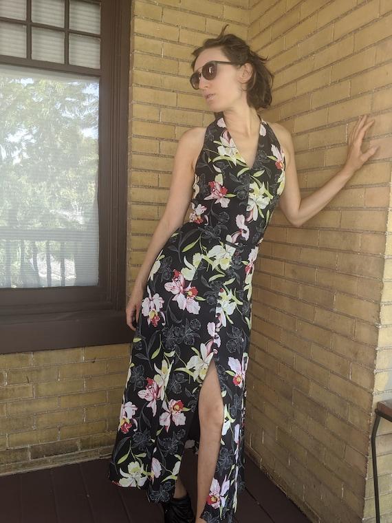 Vintage 80s Iris Summer Dress Grunge
