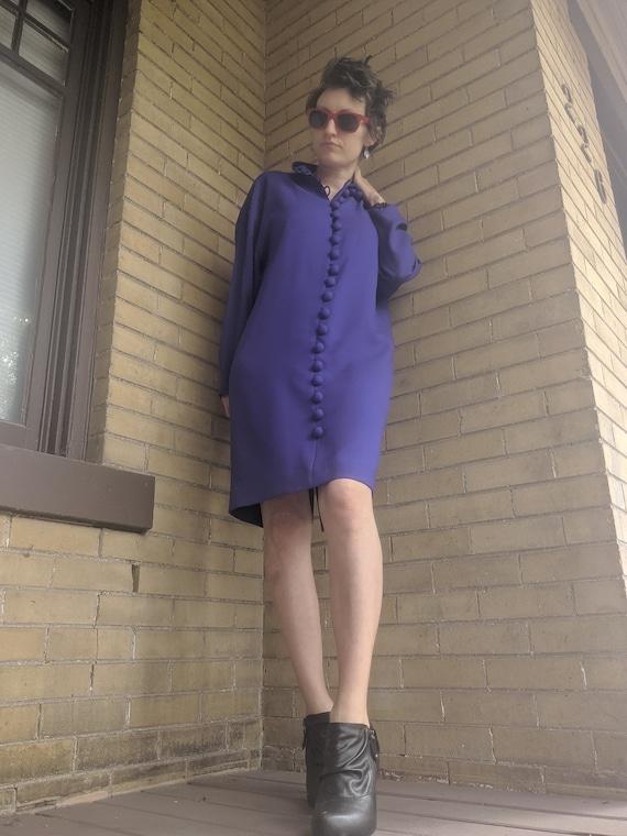 Vintage 80s Designer Arnold Scaasi Dress Rare - image 4