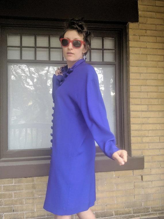 Vintage 80s Designer Arnold Scaasi Dress Rare - image 9