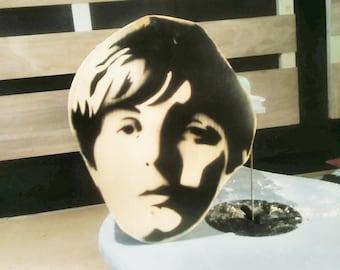 Stash Box, Paul McCartney, wood, keepsake, rock n roll, music, gift, art, stash box, handmade, Beatles