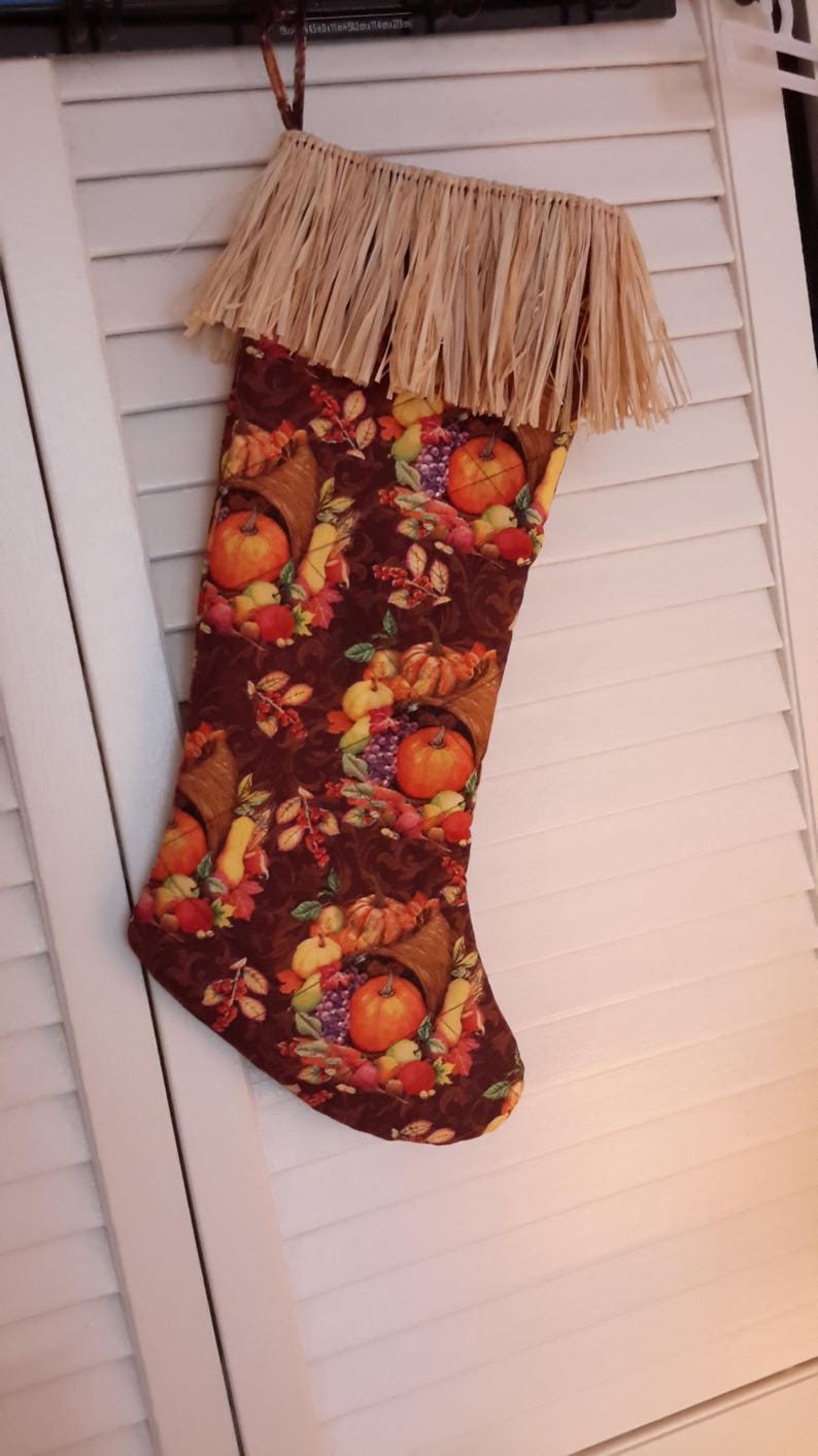 ThanksgivingFall Stockings HawaiianKine