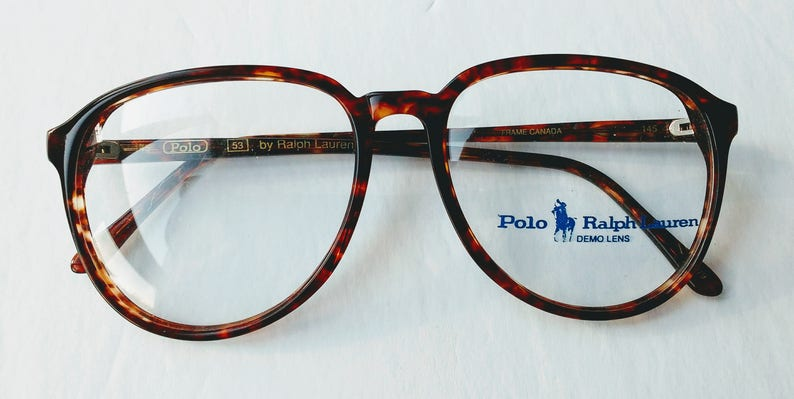 f2008a50d250 Vintage Polo 53 frames Prescription Frames | Etsy