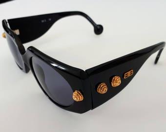 Vintage Balenciaga 85 3 16 sunglasses. Made in France