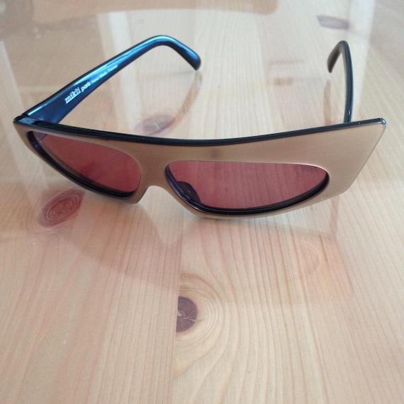 Vintage Alain Mikli AM84 Sunglasses (Hand Made) - image 3