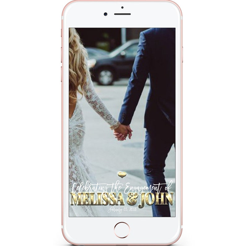 Wedding Filter Geofilter Engagement Bridal Shower Filter Custom Wedding Filter Wedding Filter Wedding Geofilter She Said Yes