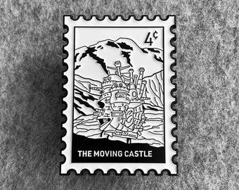 Moving Castle - Stamp Enamel Pin