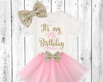 Birthday Outfit Girl 7 Etsy