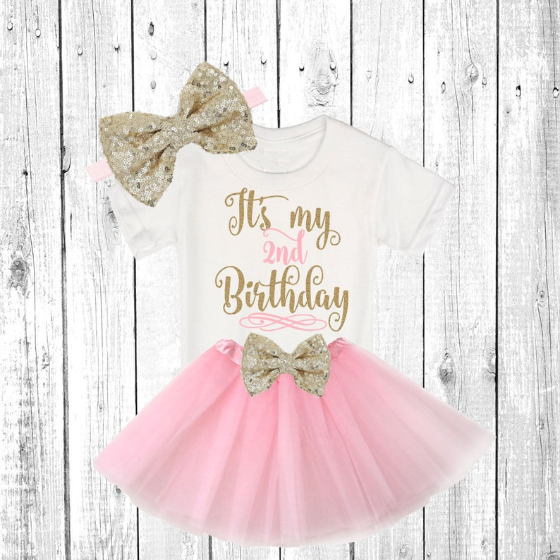 486945241c5d Second Birthday Tutu Shirt Outfit   Baby Girl Clothes two